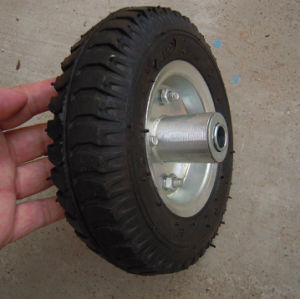 Special Tread Pattern Solid Rubber Wheel pictures & photos