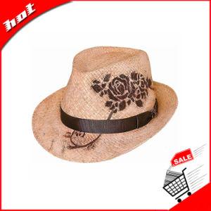 Raffia Straw Hat Fedora Hat Printing Hat pictures & photos