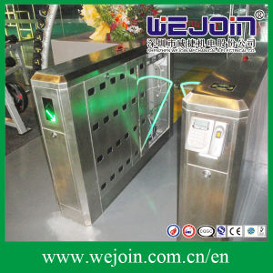 Intelligent Flap Barrier with 304 Stainless Steel Housing and Attendance System pictures & photos
