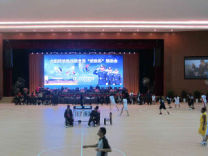 Hight Contrast P4mm SMD2121 Indoor Full Color LED Screen with 140 Degree View Angle pictures & photos