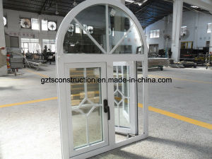 Casement Aluminum Window with Arch pictures & photos