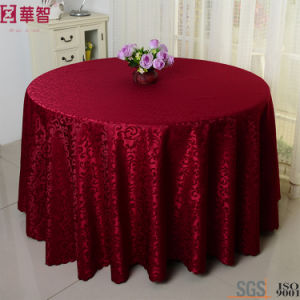 Cheap Jacquard Round Table Cloth pictures & photos