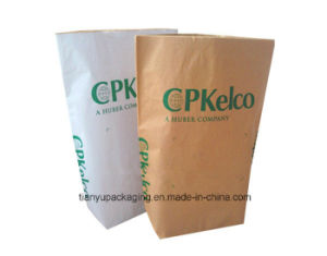 25kg Square Bottom Paper Bag for Lysine pictures & photos