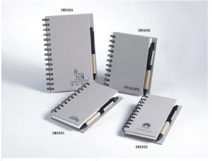 Grey Board Paper Notebook (YWT-086)