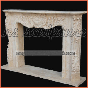 Marble Heater Fireplace Surround for Home Decor Mf1729 pictures & photos