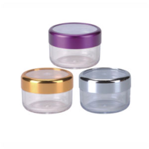 High Quality Cosmetic Jars 6ml with Screw Cap (NJ50) pictures & photos