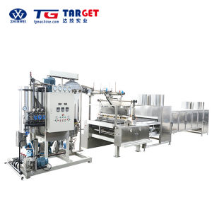 Full Automatic Serve Driven Hard Candy Depositing Line with Ce Certification pictures & photos