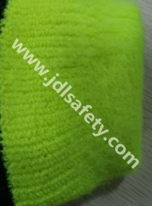 Sandy Latex Work Glove with High Visibility (LY2024) pictures & photos