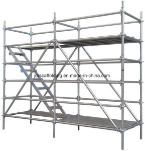 Ringlock Scaffolding for Construction Equipment pictures & photos