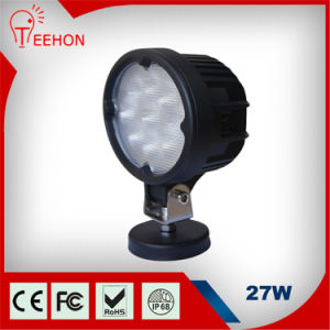 6inch 27W CREE IP68 Tractor Offroad LED Work Light pictures & photos