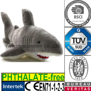 CE Stuffed Animal Shark Plush Toy