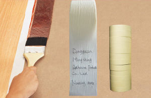 Automotive Paintting Masking Paper Tape High Temperature pictures & photos