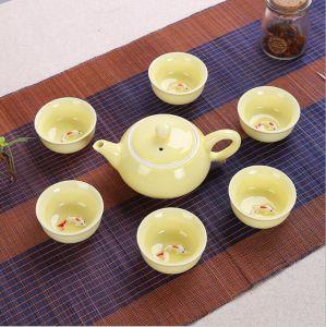 Colorful Ceramic Tea Set Teapot Popular Tea Set pictures & photos