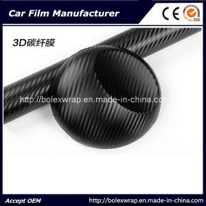 Hot~~~ 3D Carbon Fiber Wrap Vinyl Film pictures & photos