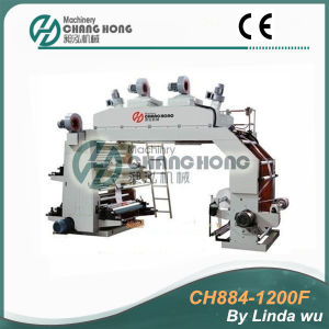 4 Color High Speed Flexographic Printing Press (CH884-1200F) pictures & photos
