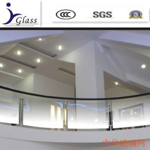 High Quality Frosted Gradient Change Glass for Shower Room Glass pictures & photos