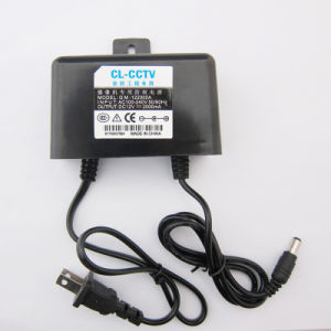 12V2a USA Switching Power Supply for Outdoor Security pictures & photos