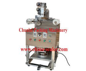 Desktop Pneumatic Cup Sealing Machine (gas filling type) (KIS-1) pictures & photos