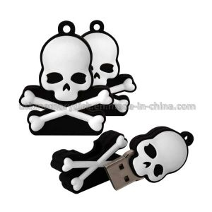 Novelty Skull and Crossbones Shape USB Flash Drive (CT-030)