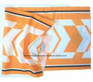 Custom Made Logo Printed Polyester Microfiber Multifunctional Snowboard Magic Tubular Buff Headscarf pictures & photos