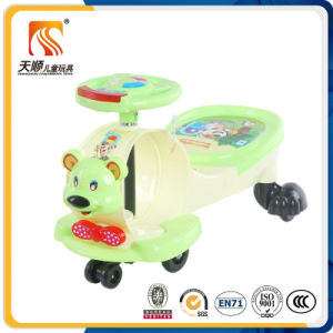 2016 Big Wheel Music fashion Swing Car in High Quality pictures & photos
