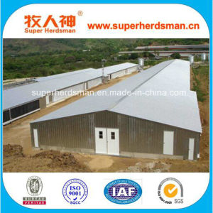 Professional Prefabricated Steel Structure Poultry House for Chicken Farming pictures & photos