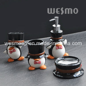 Kids Style Polyresin Bathroom Set (WBP0887A) pictures & photos