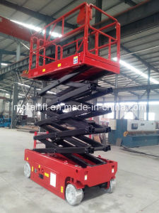 Top Quality Self-Propelled Scissor Lift (SJYZ-12) pictures & photos