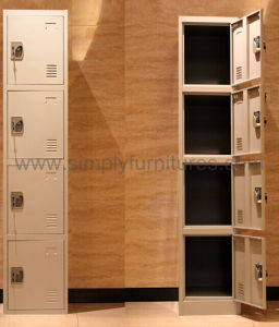Heavy Duty Steel Locker with 4 Doors pictures & photos