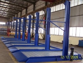2.7t Double Post Parking System with Ce pictures & photos