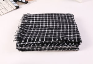 Long Winter Cashmere Pashmina Knitted Scarf for Men and Women