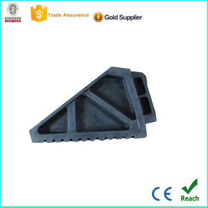 Roadway Safety Rubber Wheel Chock by Manufacturer pictures & photos