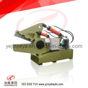 Q08-200 Cooper Rod Crocodile Hydraulic Cutting Machine (integrated) pictures & photos