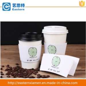 Customed Logo Coffee Paper Cup with Sleeve pictures & photos
