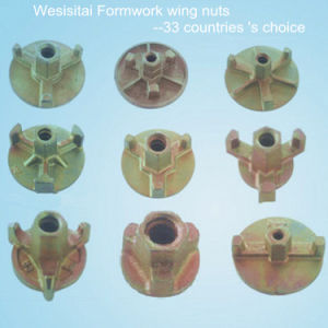 Formwork Ductile Cast Iron Wing Nut