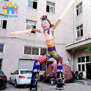 Inflatable Dancing Beautiful National Woman Sky Dancer Air Tube Man pictures & photos