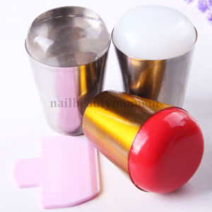 Art Nails Beauty Stamper Set Silicone Metal Stamper Tool (SNA24) pictures & photos