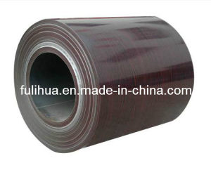 Wooden Grain Color Coated Steel Coil