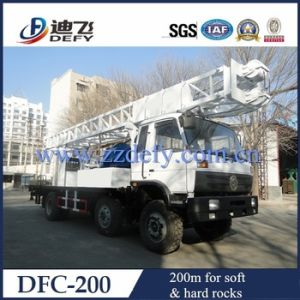 Dfc-200 Trucked Mounted Water Drilling Rig pictures & photos