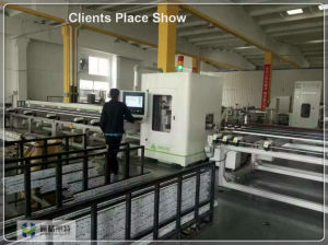 Window and Door Machine of Window Profile with 15 Seconds Different Length 45 90 Degree pictures & photos