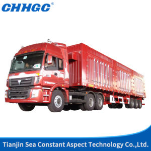 China 380HP Grilled Cargo Van Truck pictures & photos
