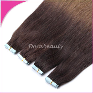 """16""""18""""20""""22"""" Tape Skin Weft Tape in Real Remy Human Hair Extensions 20PC pictures & photos"""
