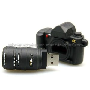 Novelty Mini DSLR Camera Shape USB Flash Drive (CT-012)