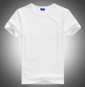 Factory High Quality Plain Crew Neck Short Sleeves T Shirt