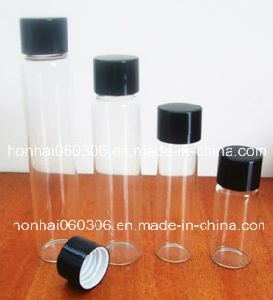2015 Fashion! 8ml Transparent Glass Perfume Bottle with Cap pictures & photos
