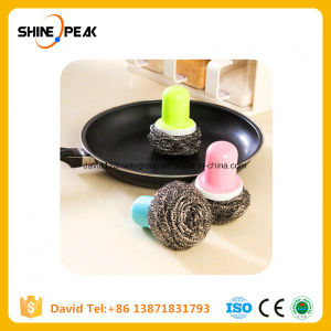 Creative Kitchen Wash Dishes Help Automatic Hydraulic Wash Pot Brush pictures & photos