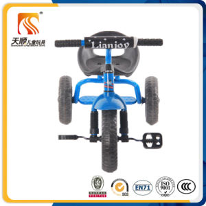 Blue Color Kids 3 Wheel Pedal Tricycle pictures & photos