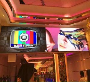 HD Indoor Full Color P4 LED Screen for Video Display pictures & photos