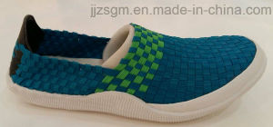 Slip-on Woven Shoes for Men pictures & photos