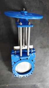 Cast Iron Non Rising Stem Knife Gate Valve, Pn10/16 pictures & photos